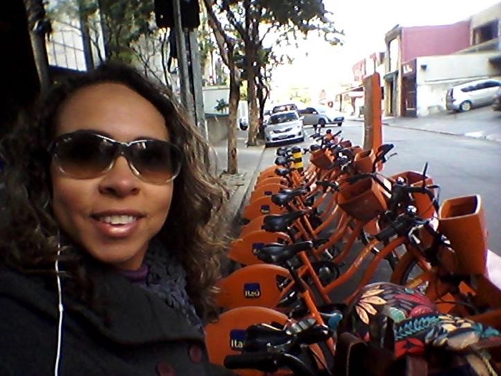Estação de bicicletas Itaú