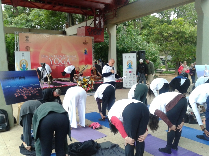 Dia Internacional da Yoga no Parque Ibirapuera