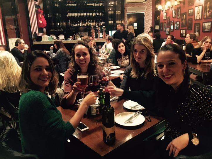 Jantar no restaurante Museu Verônica