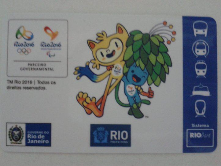 Passe Olímpico para o transporte público na Rio 2016