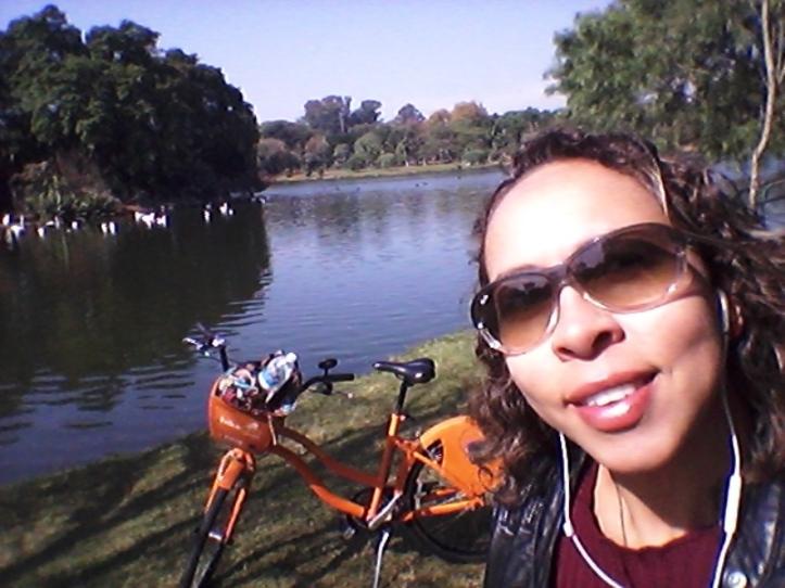 Passeio de bicicleta pelo Parque Ibirapuera