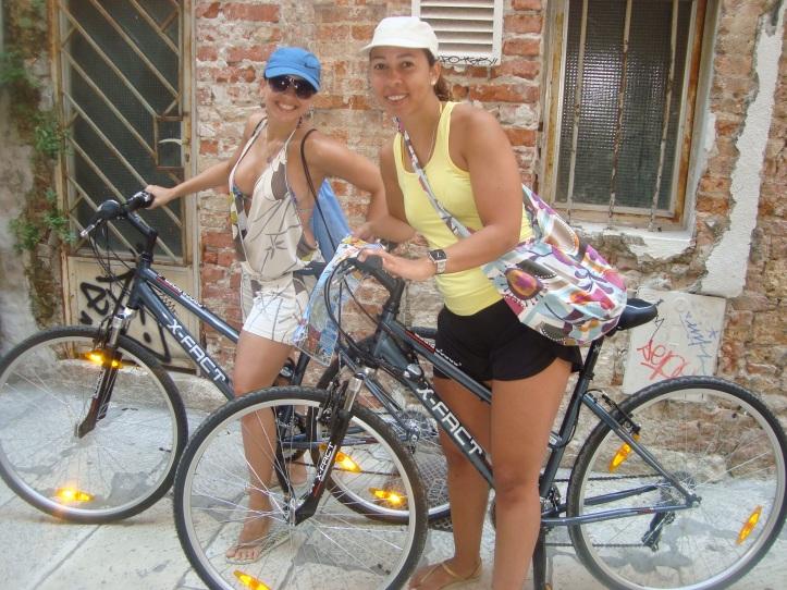 Nossas bikes para dar uma volta por Split