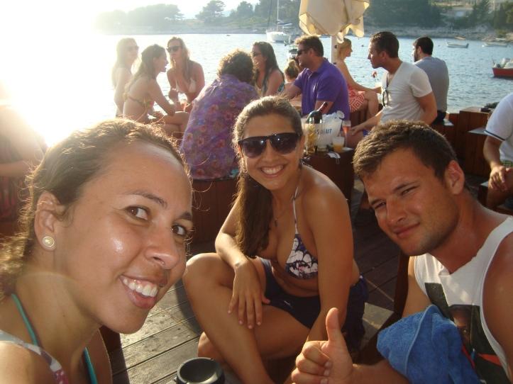 Por do sol no Hula Hula Bar