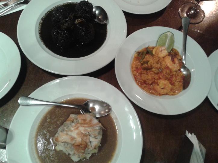 Acertamos em cheio em nosso pedido! Pratos deliciosos do restaurante Museu Verônica!