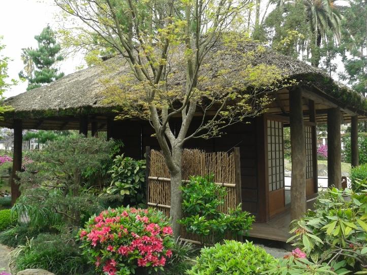 Casa de chá do Jardim Japonês