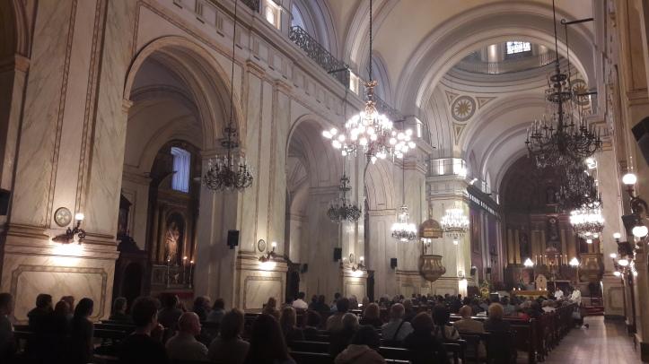 Interior da Catedral Metropolitana de Montevidéu