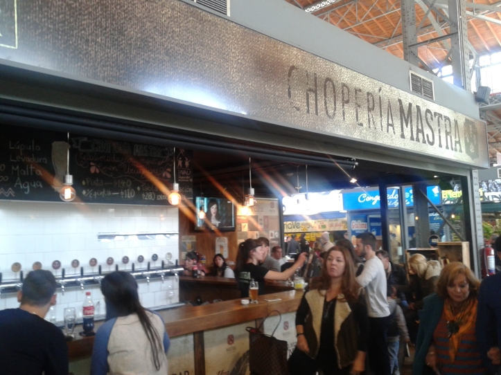 Choperia Mastra, uma das atrações do MAM