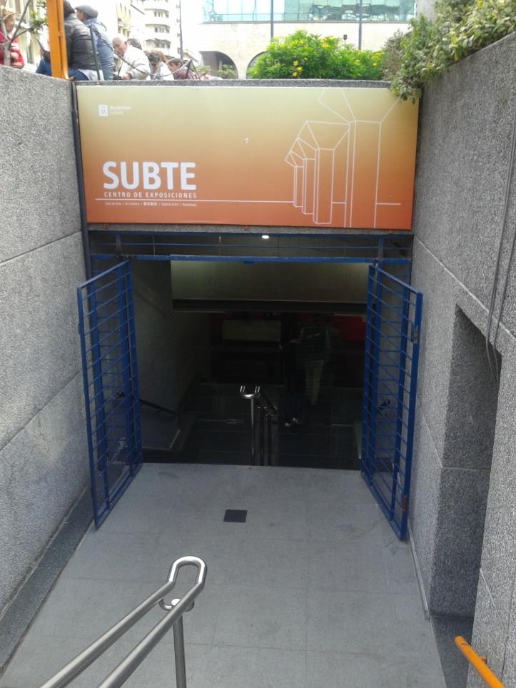 Centro de Exposições Subte