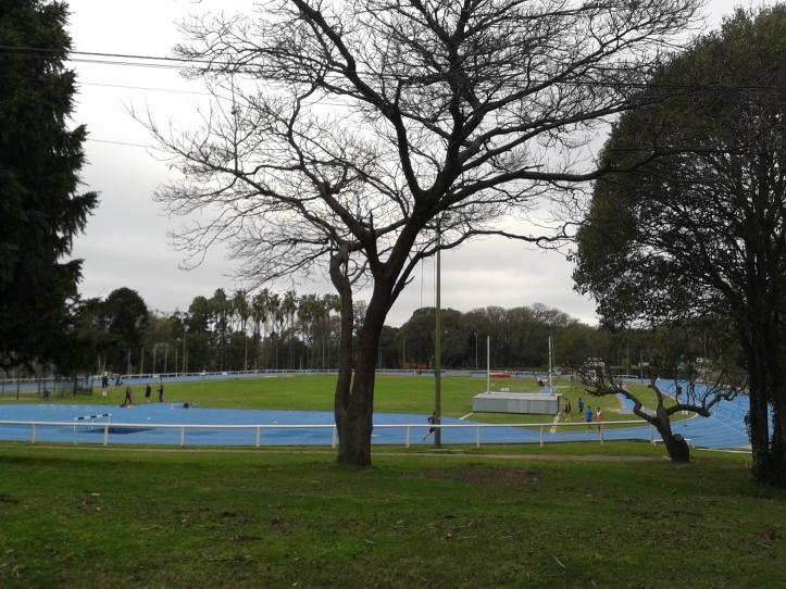 Pista de Atletismo no Parque Batlle