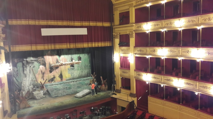 Sala principal do Teatro Solis
