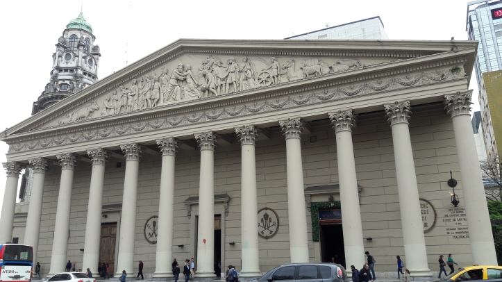 Catedral de Buenos Aires por fora