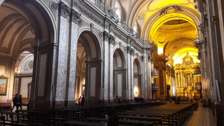 Interior da Catedral de Buenos Aires