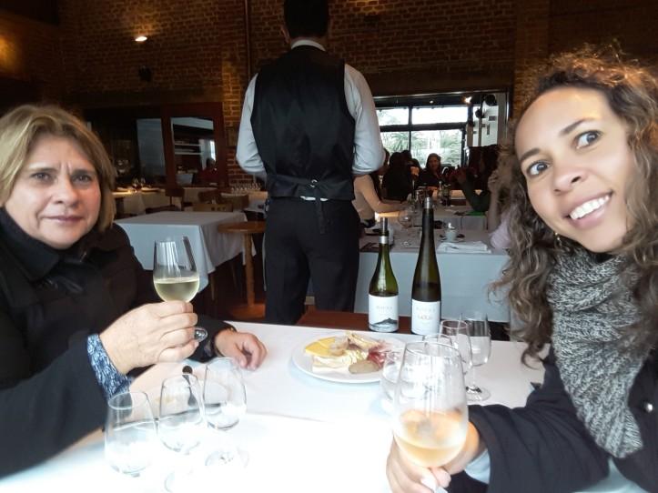 Início da degustação de vinhos