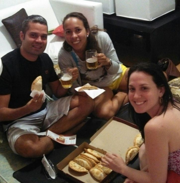 Jantar de empanadas em 2014