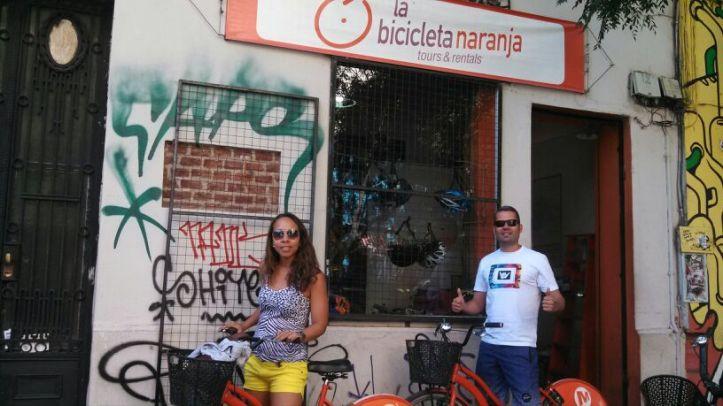 La Bicicleta Naranja - aluguel de bikes