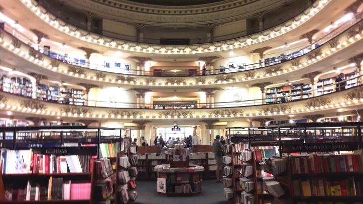 Livraria El Ateneo por dentro