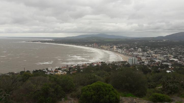 Piriápolis vista do alto do Morro Santo Antonio