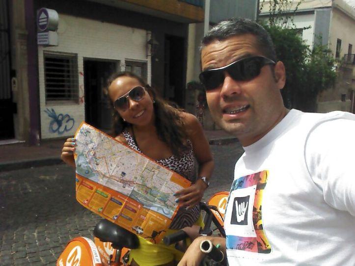 Rolé de bike por Buenos Aires