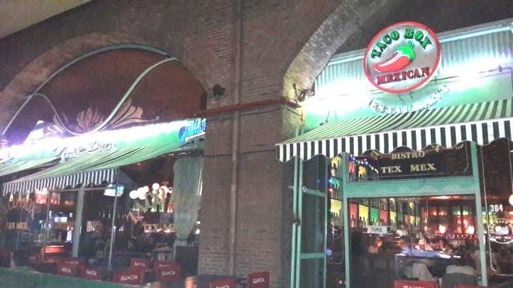 Taco Box - restaurante TexMex no bairro de San Isidro
