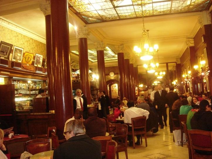Interior do Café Tortoni (2008)