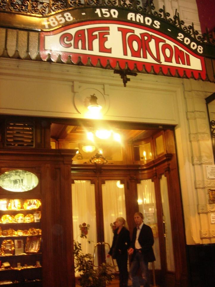Fachada do tradicional Café Tortoni (2008)