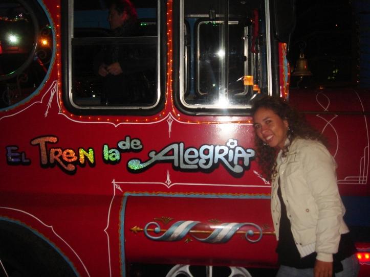 El tren de la alegria para a boate Ásia de Cuba