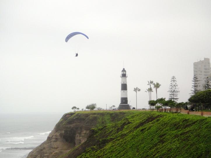 Orla de Lima -Farol e paragliding
