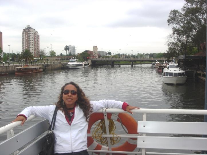 Passeio de barco pelo Delta do rio Paraná (2008)