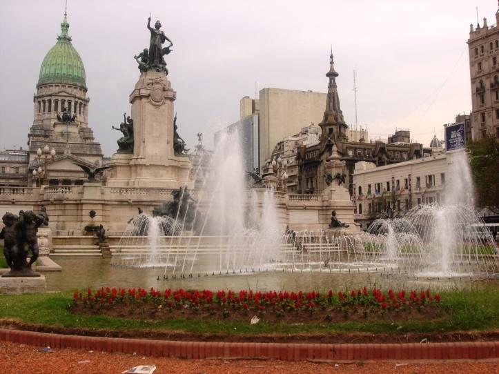Plaza del Congreso em 2008