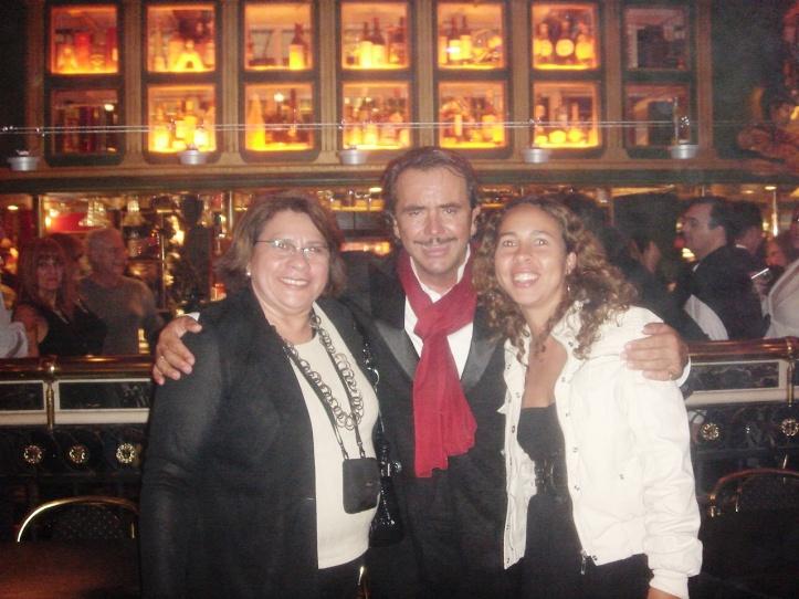 Cantor principal do Señor Tango!