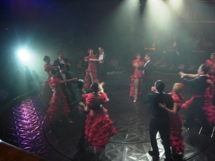 Os dançarinos do Señor Tango são sensacionais!