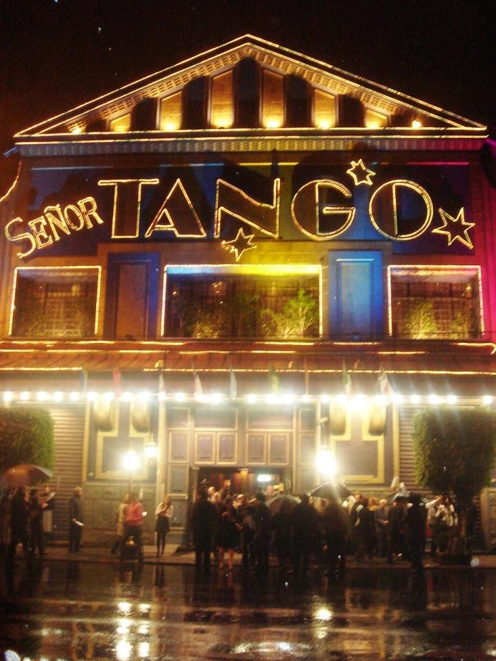 Show de tango no Señor Tango