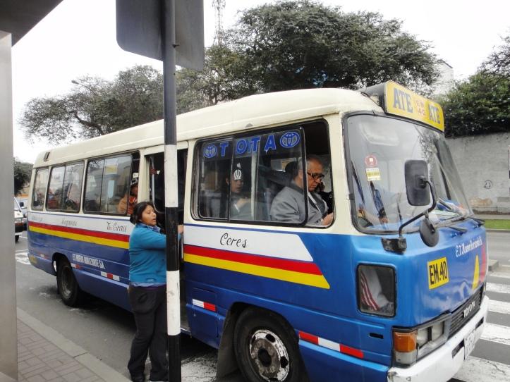 Coletivo em Lima - uma aventura!