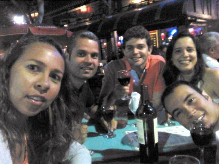 Vinho na Plaza Serrano