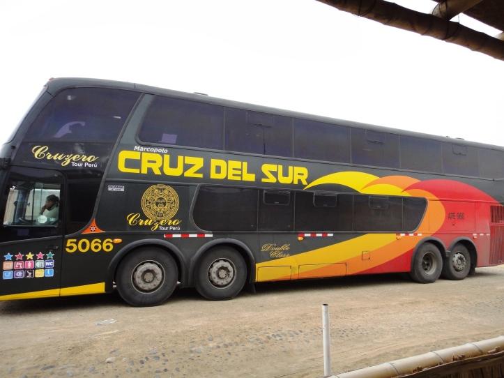 Ônibus da Cruz del Sur
