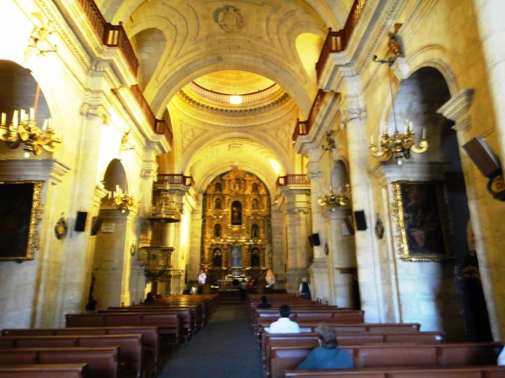 Interior da Igreja Companhia de Jesus
