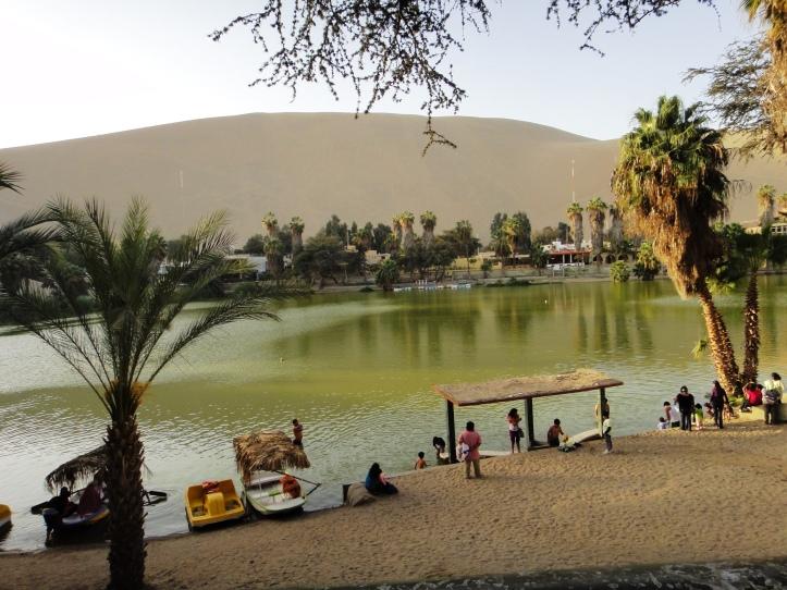 Lagoa de Huacachina