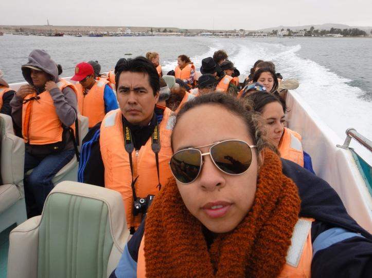 Lancha do passeio pelas Ilhas Ballestras