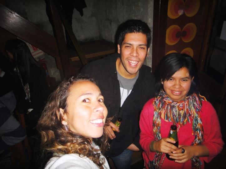 Peruanos parceiros de balada em Arequipa