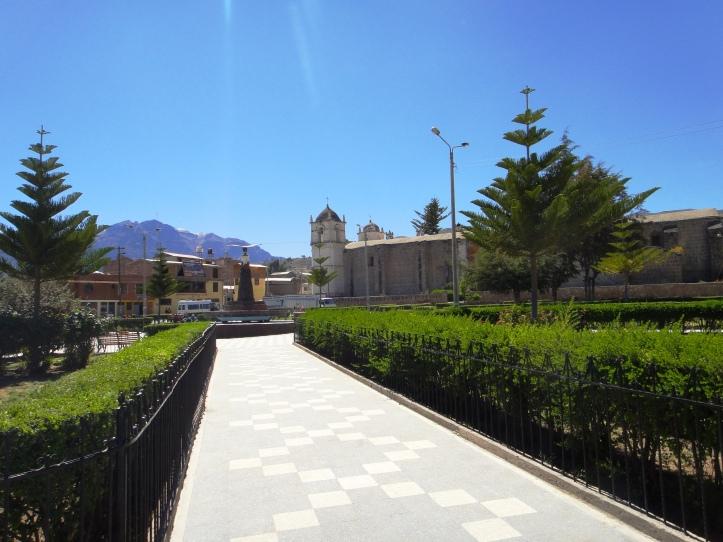 Praça de Armas de Cabanaconde