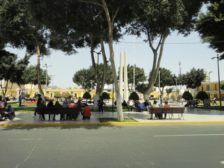 Plaza de Armas de Ica