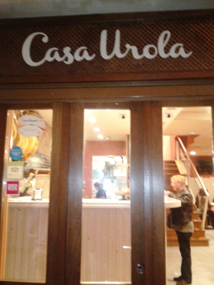 Pintxo Bar Casa Urola