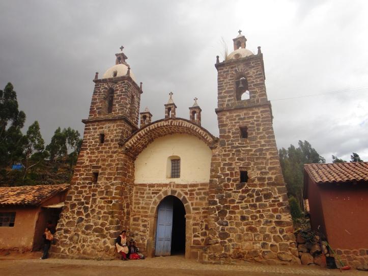Fachada da Igreja de Raqchi