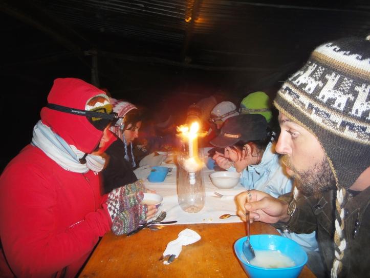 Jantarzinho a luz de velas