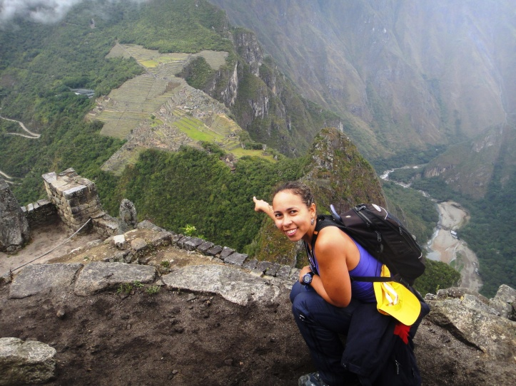 Machu Pichu a partir do WaynaPicchu