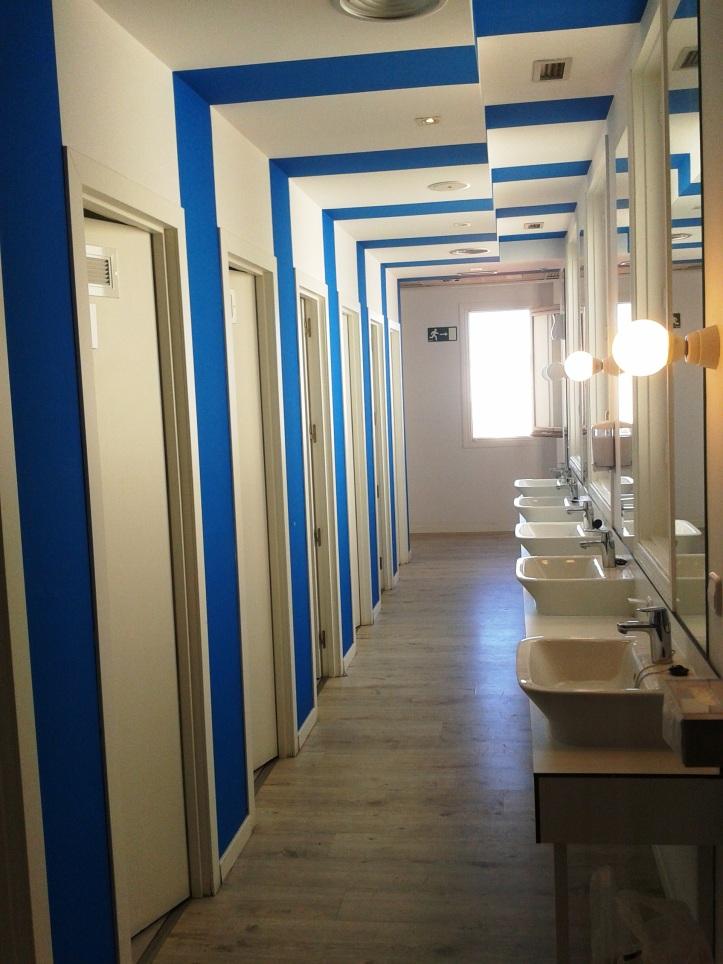 Banheiros do U-Hostel