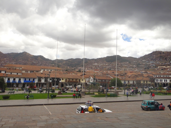 Cusco vista da Catedral