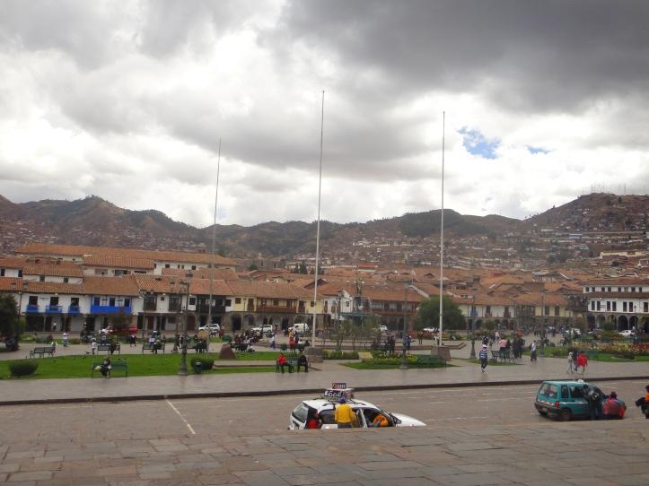 Cusco vista da Catedral