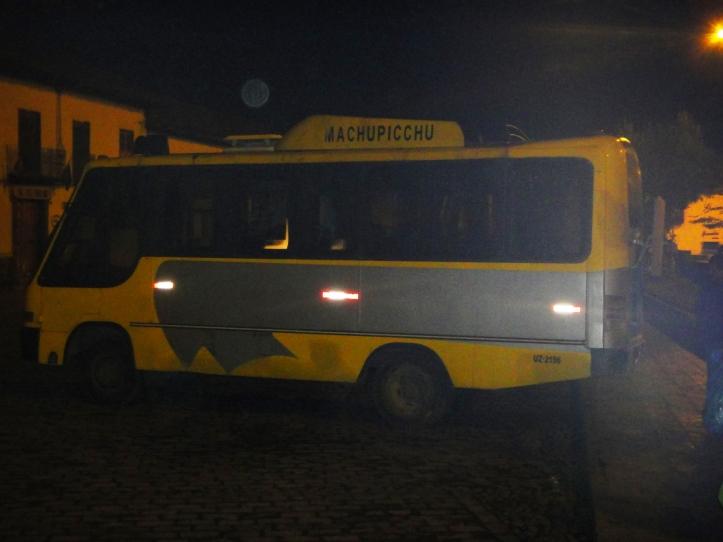 Ônibus para a trilha