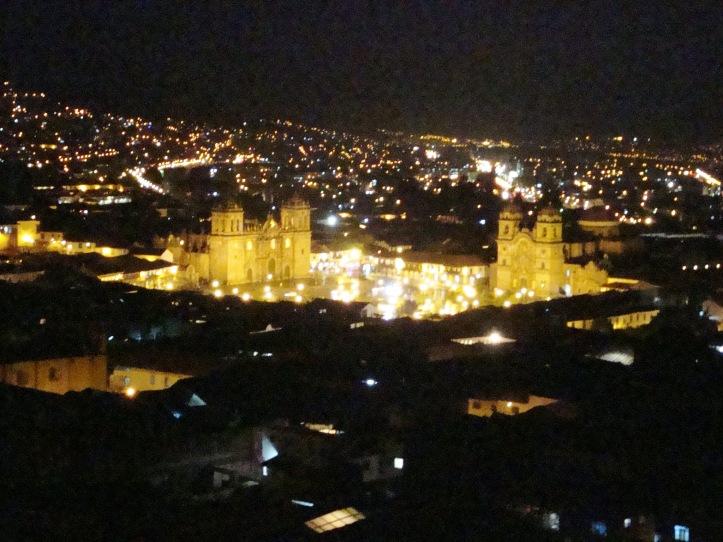 Cusco pela noite